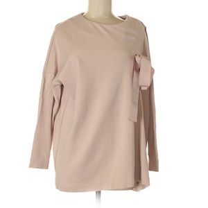COS Dusty Pink Drawstring Top